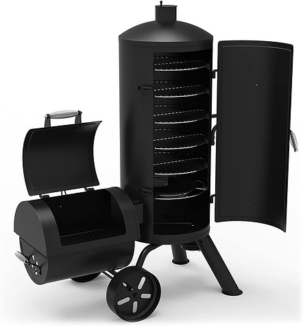 Dyna-Glo Signature Series DGSS1382VCS-D Heavy-Duty Vertical Offset Charcoal BBQ Smoker & Grill Review
