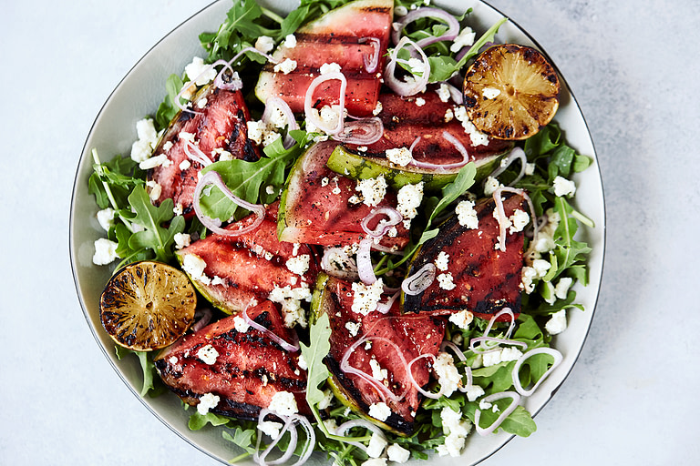 Grilled Watermelon Salad-8