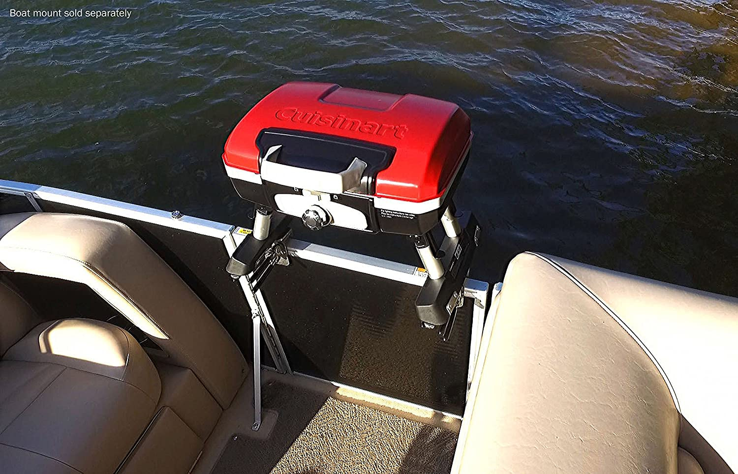 Cuisinart Cgg 180ts Petit Gourmet Tabletop Portable Gas Gril Grill On Grill Action