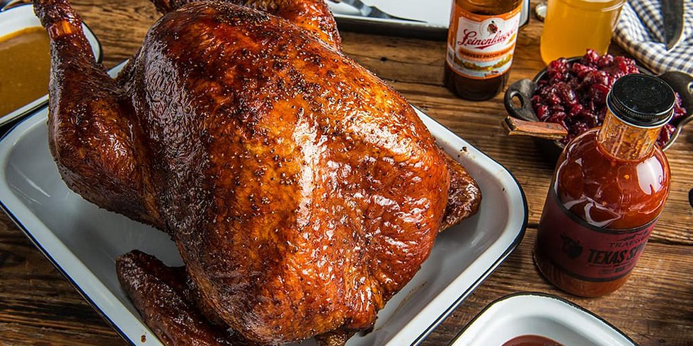 Barbeque Whole Turkey