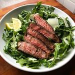 Grilled Steak & Arugula
