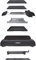 GoWISE USA GW88000 2-in-1 Smokeless Indoor Grill and Griddle with Interchangeable Plates and Removable Drip Pan Review