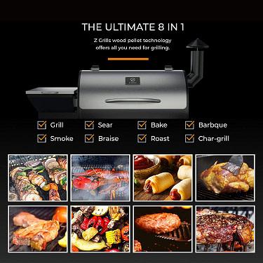 Z Grills Wood Pellet Grill BBQ Smoker Review